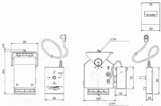 motorized pan tilt heads  manual for the pt400t motorized pan  tilt head